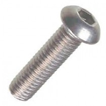 Button Socket Screw ISO 7380-1 Stainless Steel A2