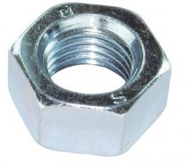 Hexagon Full Nut 8.8 Steel and Steel Bright Zinc Plated
