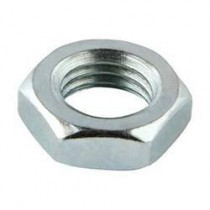 Hexagon Thin Nuts Steel Bright Zinc Plated