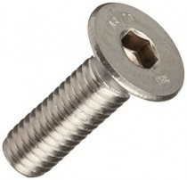 Countersunk Socket Screw DIN 7991 Stainless Steel A4