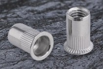 Countersunk Head Knurled Body Rivet Nut Stainless Steel