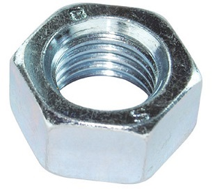 M6 Hex Full Nut Steel 8.8 BZP