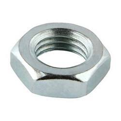 M12 Hex Lock Nut Steel 8.8 BZP
