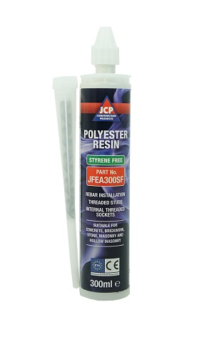 JCP Polyester Styrene Free Resin 300ml