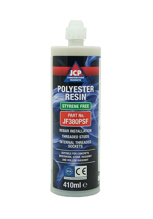 JCP Polyester Styrene Free Resin 410ml