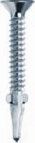 4.2 Ø x 45mm Csk Winged   Ribbed Drill Screw