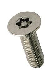 M6 x 10mm Csk 6-Lobe Pin MC A2
