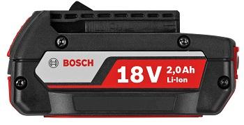 Bosch GBA 18V 2.0AH M-B Li-ion Battery 18v