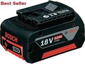 Bosch 18V 4.0AH M-C Li-ion Battery 18v