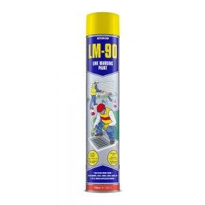 LM-90 Line Marking Spray Yellow 750ml